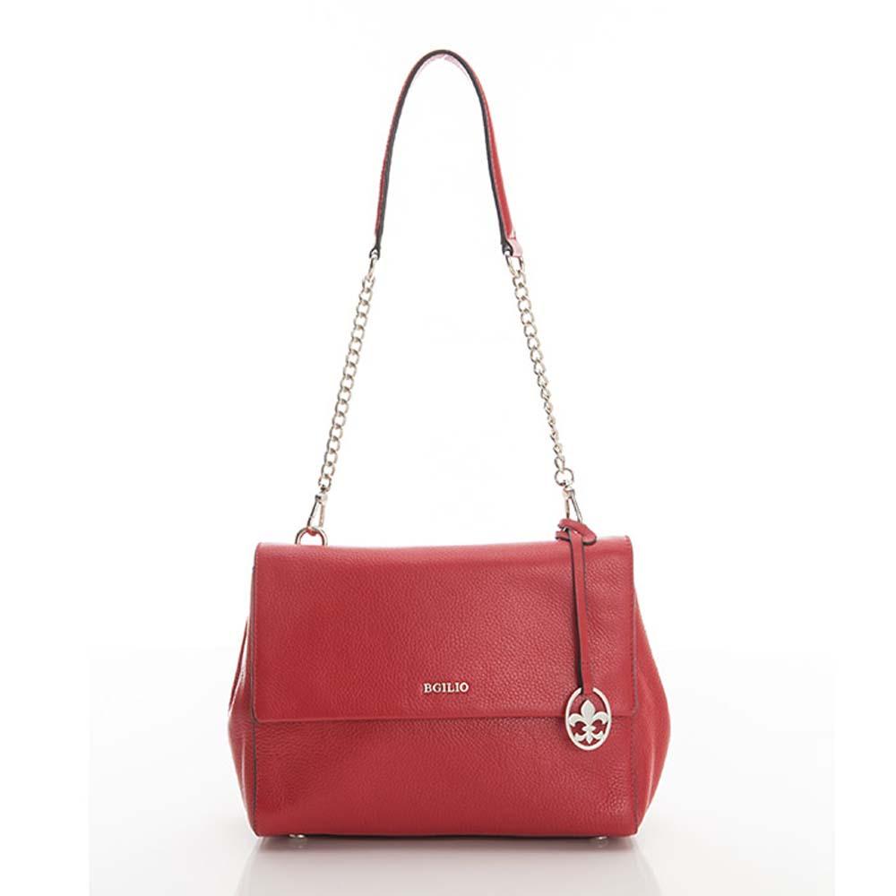 義大利BGILIO - 牛皮2WAY小包 - 紅色2290.001A-01
