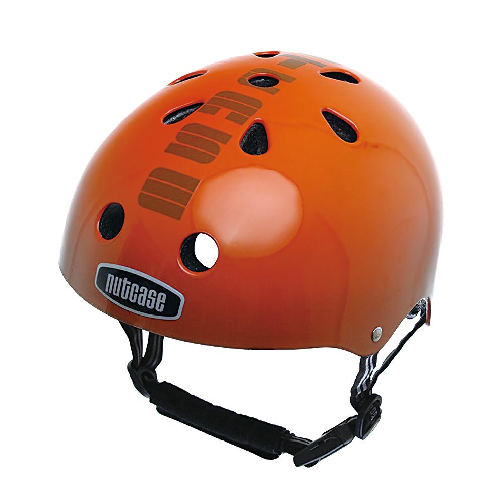 【hilltop山頂鳥】NUTCASE彩繪安全帽2030/PUMPKIN HEAD