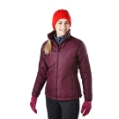 【Berghaus貝豪斯】女款溫度調節高科技棉防風外套H22FR1-紫