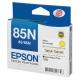 EPSON NO.85N 原廠黃色墨水匣(T122400) product thumbnail 1