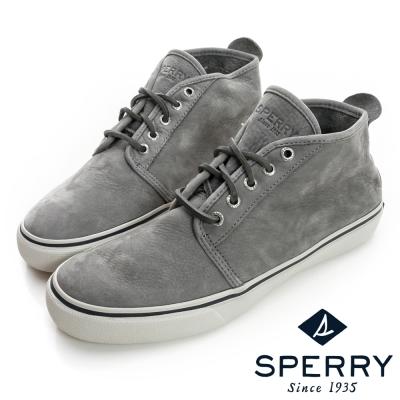 SPERRY 可水洗休閒短靴-男-灰