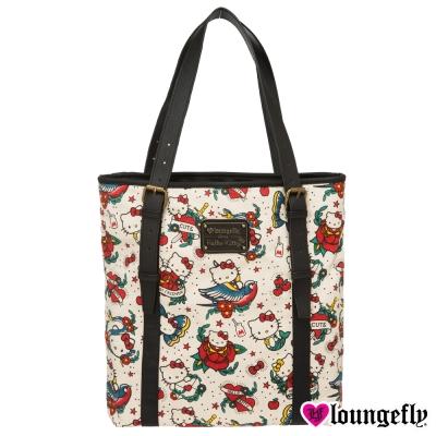 Loungefly-凱蒂聯名款肩背包-刺青凱蒂LFSANTB1474