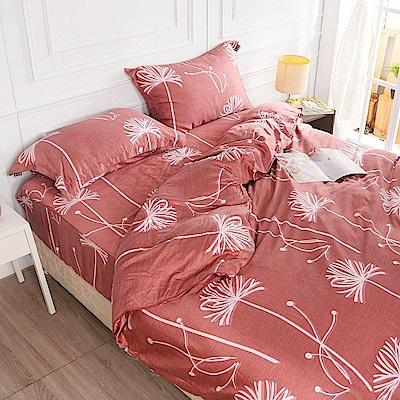 夢工場 歌詠飛絮天絲頂規款兩用被鋪棉床包組-雙人