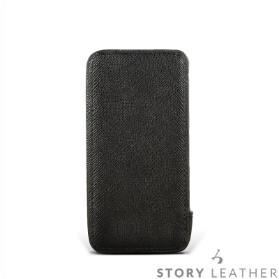 STORYLEATHER SAMSUNG S8 / S8+ 眼鏡盒式側開油邊 客...
