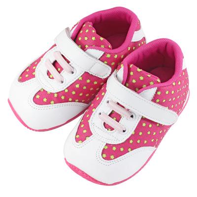 Swan天鵝童鞋-滿天星機能學步鞋1452-桃
