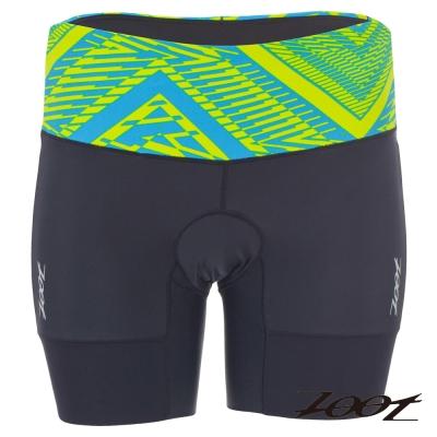 ZOOT 專業級6吋肌能鐵人褲(女) Z1606011(圖騰藍)