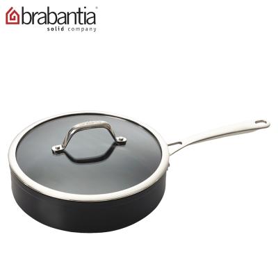 荷蘭BRABANTIA-Tritanium鈦系列24公分單把平底鍋