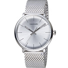Calvin Klein ck巔峰系列 復刻版時尚腕錶(K8M21126)銀白/40mm