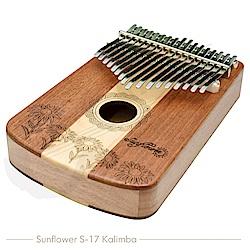Vertech 卡林巴 kalimba 專業17音 拇指琴 (SUNFLOWER S17)