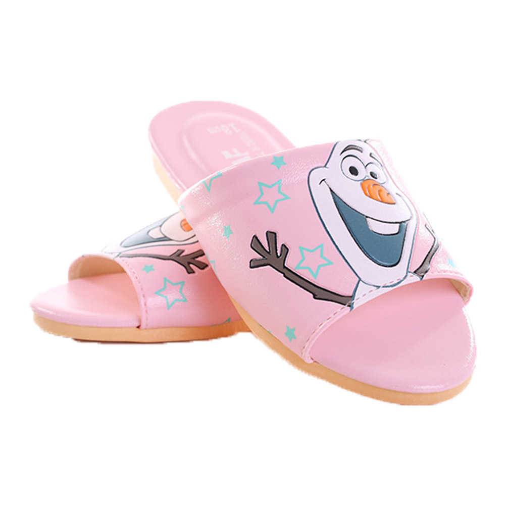 迪士尼冰雪奇緣雪寶室內拖鞋 sh9788