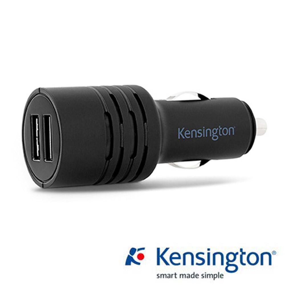 Kensington 4.2 A 智慧雙槽車用電源供應器 (USB 充電器)