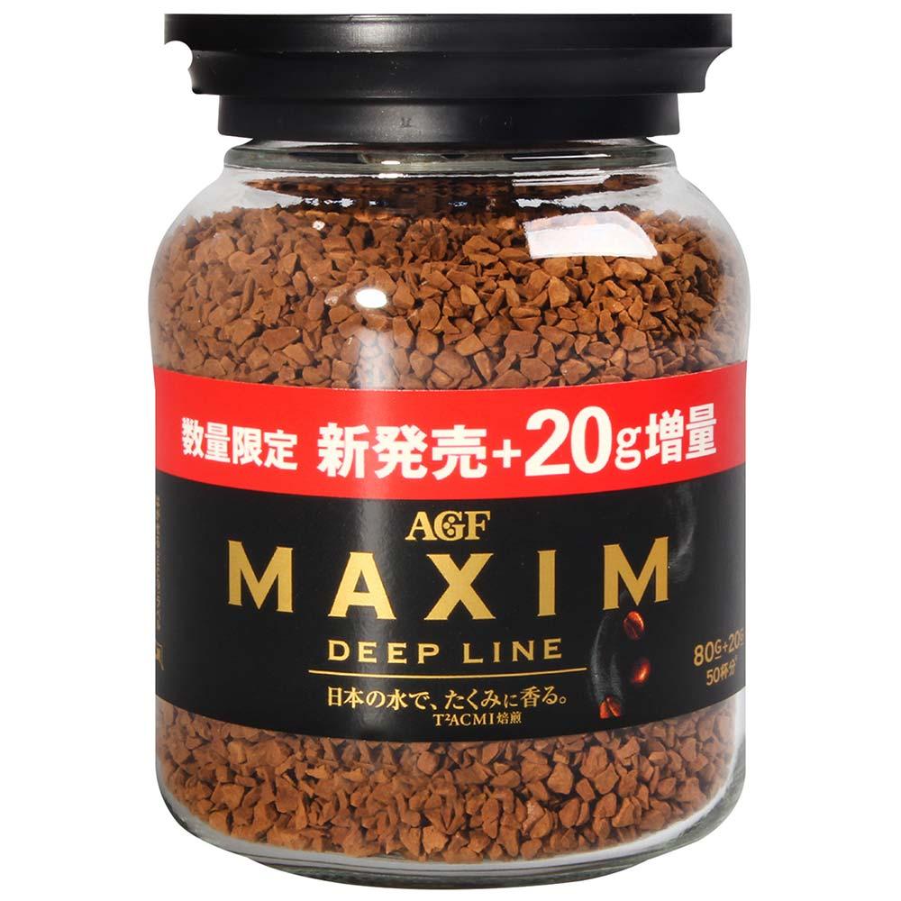 AGF 濃郁深煎咖啡80g+20g(100g)