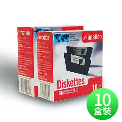 【IMATION】3.5吋 1.44MB磁碟片 10片裝(十盒)