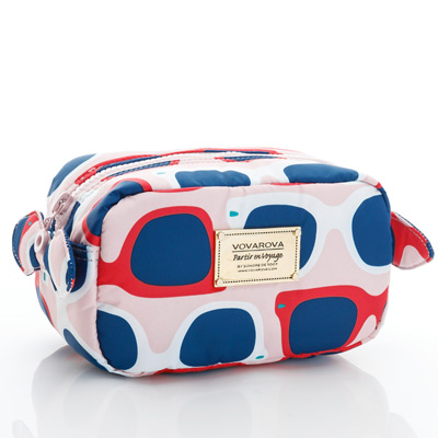 VOVAROVA空氣包-裝不滿化妝包-威尼斯豔陽下-法國設計系列