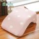 格藍傢飾 水玉涼感舒壓午睡枕-草莓粉 product thumbnail 1
