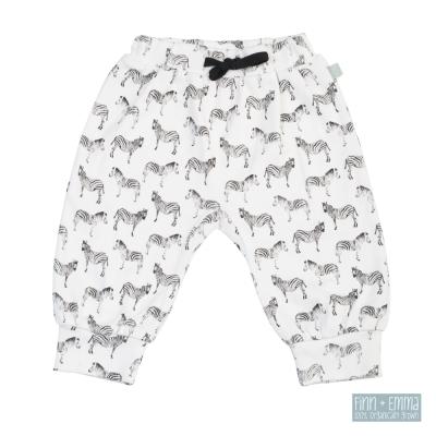 美國 FINN & EMMA 有機棉燈籠褲 (斑馬)