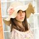 【Aimee Toff】美弧浪邊俏麗遮陽帽(