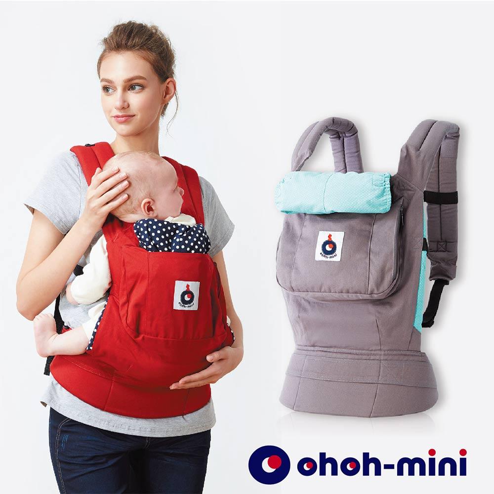 【ohoh-mini 孕婦裝】輕鬆揹心貼心系列-揹巾- 舒適灰