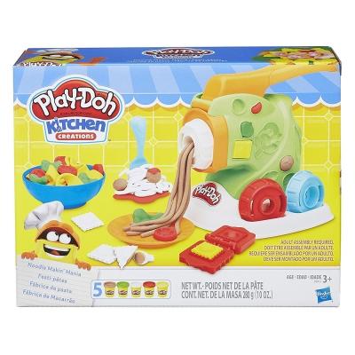 培樂多Play-Doh 創意DIY黏土 廚房系列 製麵料理組 B9013(3Y+)
