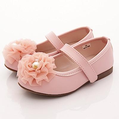 日本娃娃 珍珠蕾絲公主鞋款 6932粉(中小童段)