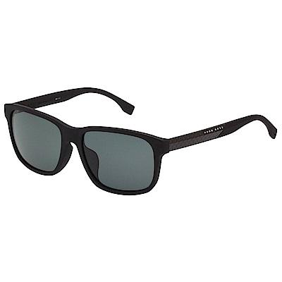 HUGO BOSS 偏光 太陽眼鏡 (霧黑)BOSS0858FS