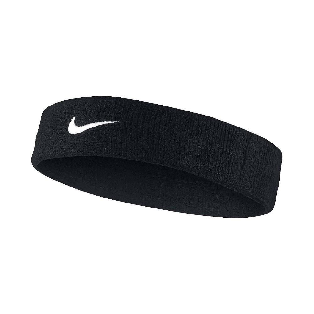 Nike 頭帶 Swoosh HeadBand 運動 黑 白
