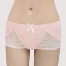 曼黛瑪璉-包覆提托V極線  低腰平口無痕內褲(桃花粉)