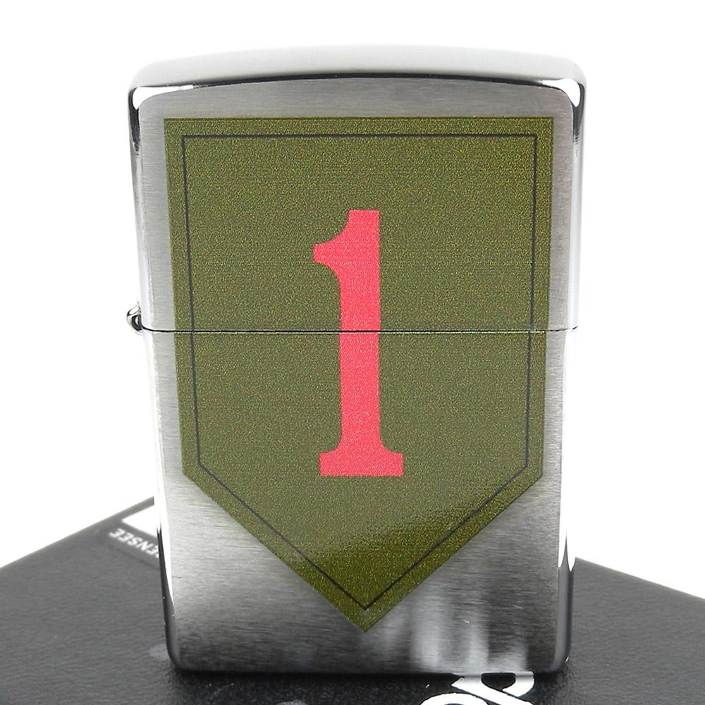 【ZIPPO】美系~U.S. Army-美國陸軍第1步兵師圖案設計打火機
