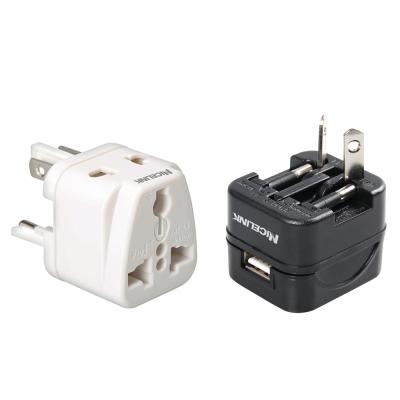 全球旅行萬用轉接頭 UA-500A+ NICELINK USB萬國充電器 US-T11A