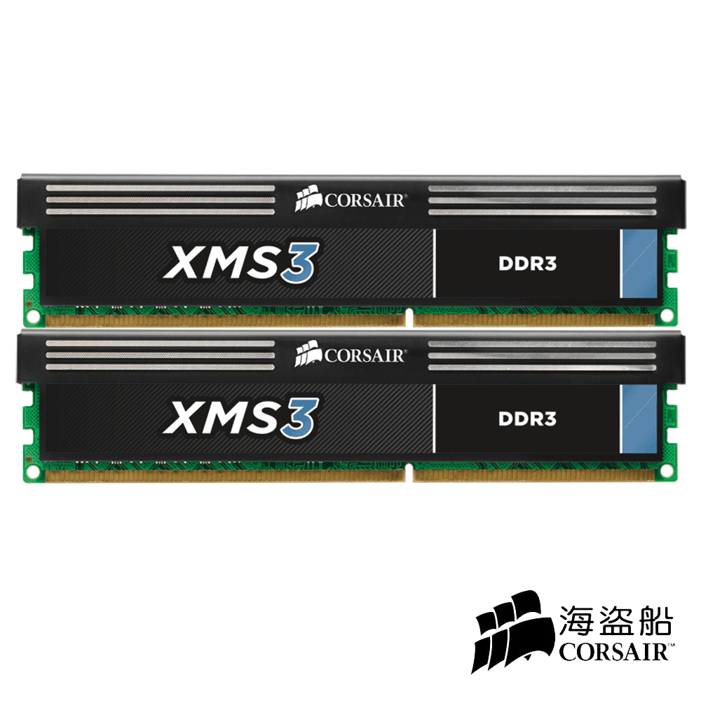 CORSAIR XMS3 DDR3-2000 8GB (4GX2) CL9