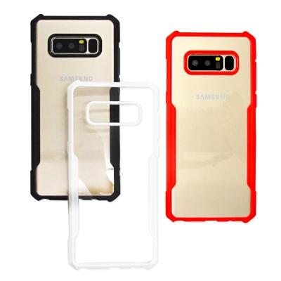 XUNDD 簡約工業風 Samsung Note8 裸機殼 雙料手機殼
