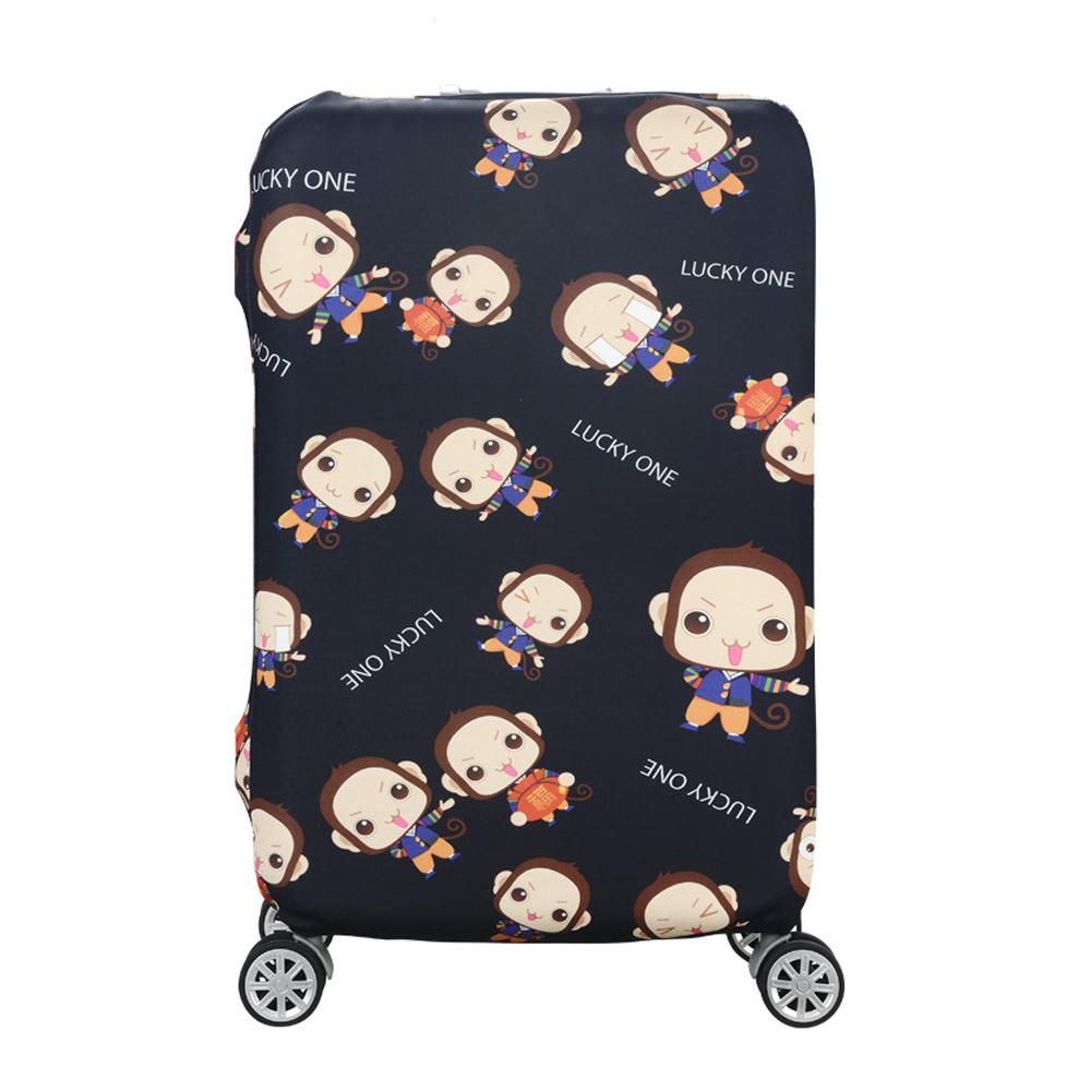 DF 生活趣館 - 行李箱保護套防塵套圖案款L尺寸適用26-28吋-共2色 product image 1