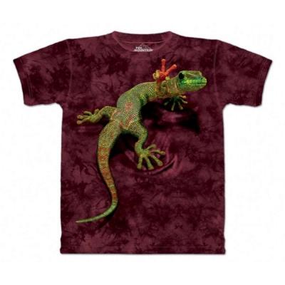 摩達客 美國進口The Mountain 和平壁虎 純棉環保短袖T恤