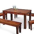 H&D 相思木6尺餐桌 (寬180X深90X高75cm)