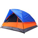 雙層四人快速露營帳篷