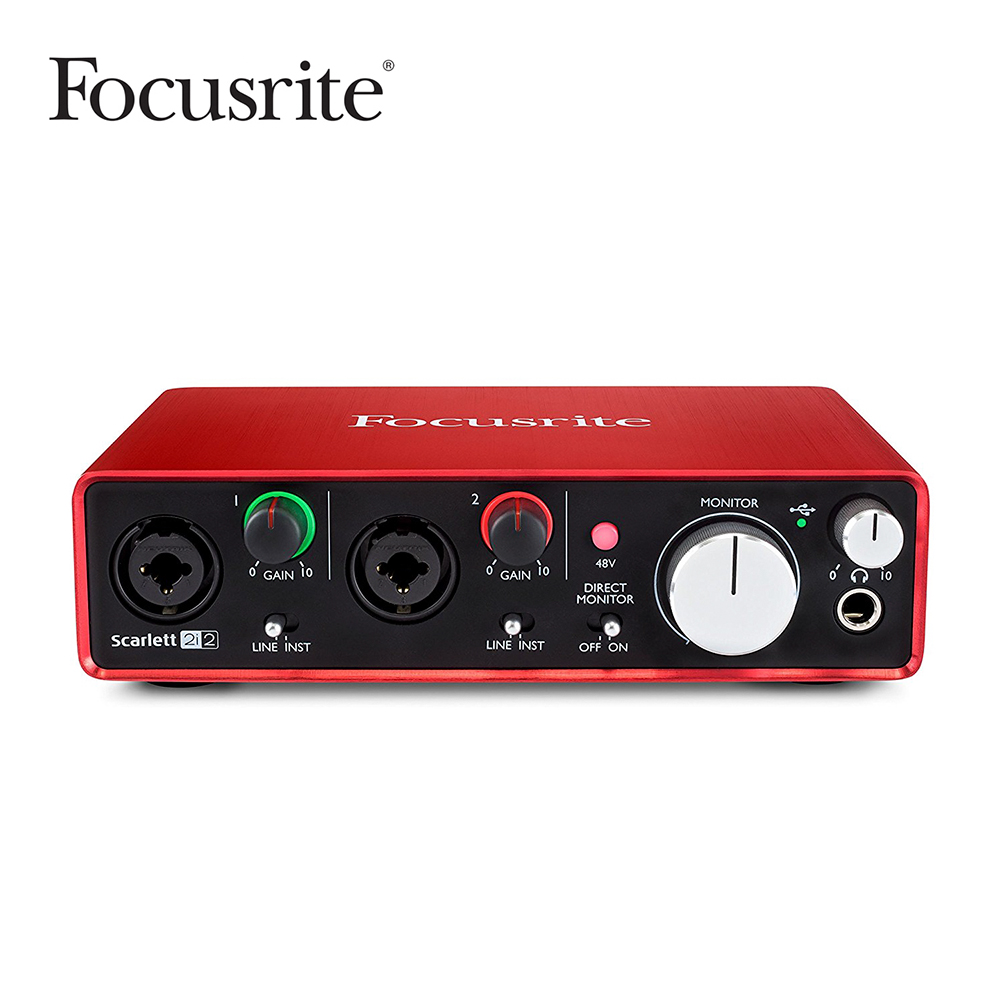 Focusrite Scarlett 2i2 2nd Gen 錄音介面