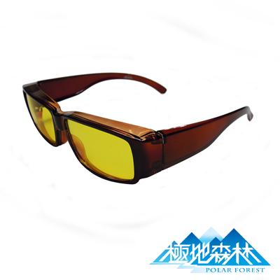 【極地森林】夜間專用黃色護目鏡(近視可用) 2764