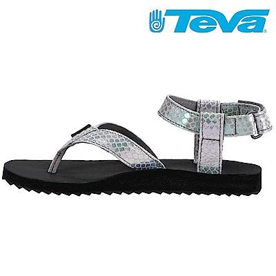 TEVA ORIGINAL SANDAL IRIDESCENT 女休閒涼鞋 灰