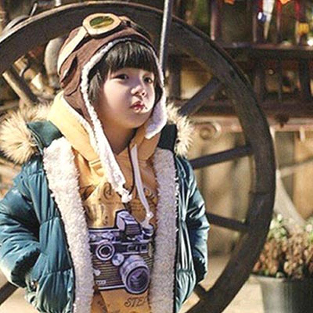 韓版超人氣可愛飛行帽/保暖帽/毛帽/護耳帽