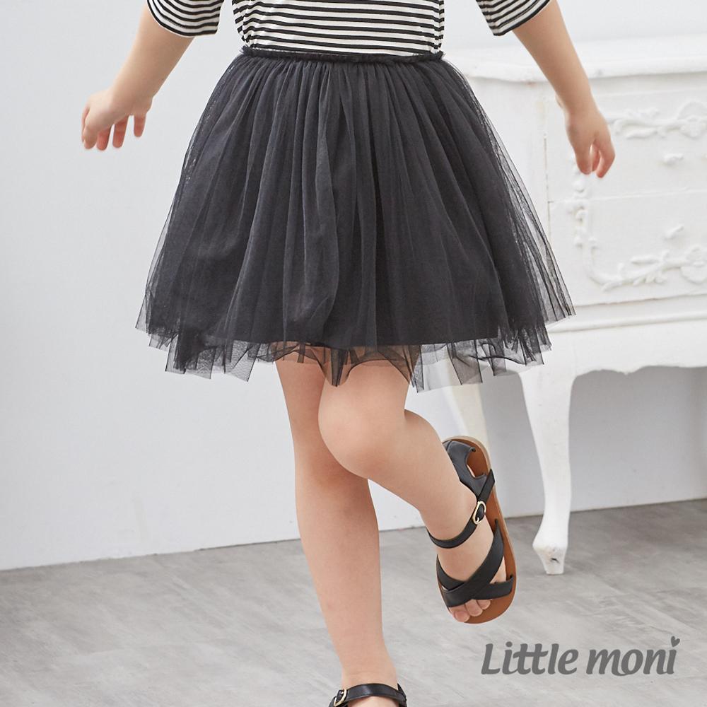 Little moni 浪漫女孩紗裙 (共2色)