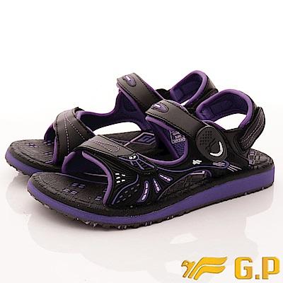 GP時尚涼拖-兩穿式磁扣涼鞋款-SE684W-41紫(女段)