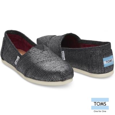 TOMS 金屬織紋懶人鞋-女款