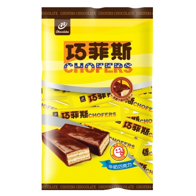 77 巧菲斯牛奶巧克力(400g)