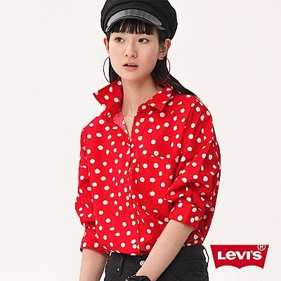 襯衫 女裝  圓點印花 紅色 - Levis