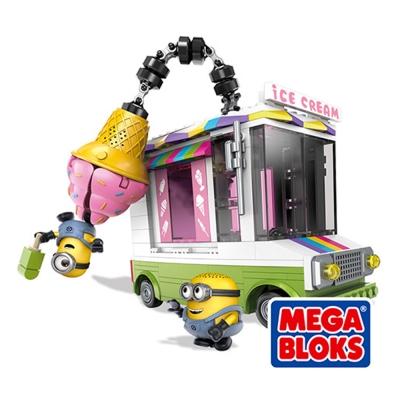 MEGA BLOKS美高-神偷奶爸 小小兵冰淇淋車(5Y+)