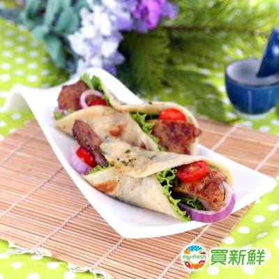 【買新鮮】特製椒香雞腿排80g±10%/片(3片/包240g±10%)X15包