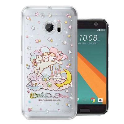 三麗鷗 雙子星仙子 KiKiLaLa HTC 10 / M10 水鑽系列手機殼(...