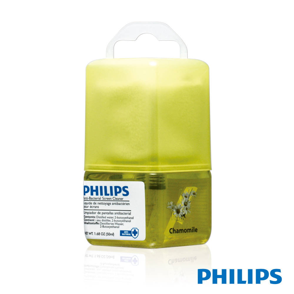 PHILIPS 強效抗菌 螢幕清潔組(香味)含擦拭布SVC1117