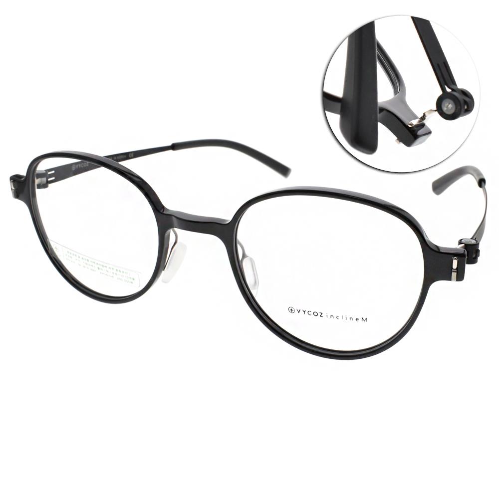 VYCOZ眼鏡 復古圓框/黑#AILY SBKBK
