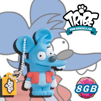 義大利TRIBE-辛普森一家 8GB 隨身碟 - 癢癢鼠(ITCHY)
